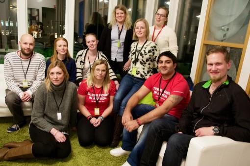 Fastighets har en stor delegation på LO Ungdomsforum det här året. Och de unga är motiverade att engagera flera.