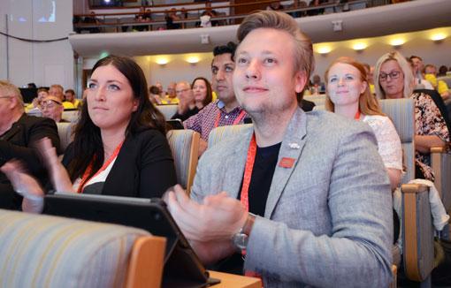 LO-kongressen är Fastighets möjlighet att bestämma hur LO ska agera framöver. Emil Isenheim är en av dem som har representerat förbundet.