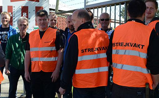 Senast Fastighets gick ut i strejk var för Pactaavtalet 2013. Då pågick strejken i fem dagar. Bilden är från Telgebostäder i Södertälje.