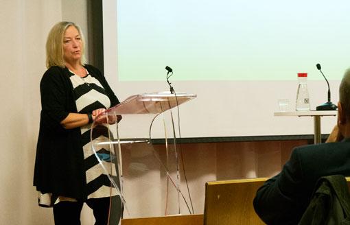 """""""Det är grovt oansvarigt när arbetsledningen ger sig på skyddsombuden ute i verksamheten"""", säger Berit Müllerström, LO:s andre vice ordförande."""