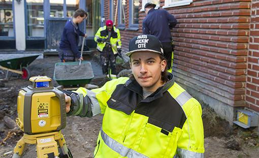 """""""Det verkar intressant och roligt"""", säger Erik Andersson som i höst börjat på VVS- och fastighetsprogrammet."""