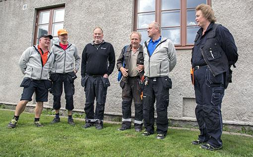 Klubbstyrelsen på Familjebostäder i Göteborg är inte rädda på jobbet, men upplever att de hotfulla situationerna med boende har blivit vanligare.