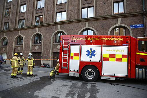 En man som skulle vräkas är nu åtalad för att i somras ha anlagt flera bränder i fastigheter kopplade till Familjebostäder. Foto: Henrik Jansson/TT