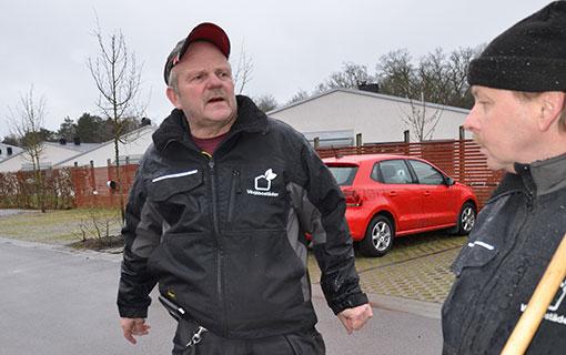 Per-Åke Tersmark och Stefan Söderberg var tidigare anställda av Växjöbostäder.