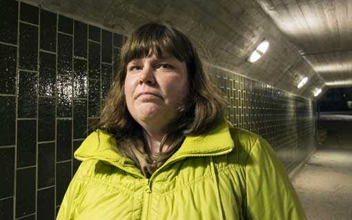 Anneli Davidsson har varit anställd på ISS sedan 1995. Nu får hon minskad arbetstid, tillsammans med omkring 40 kolleger.