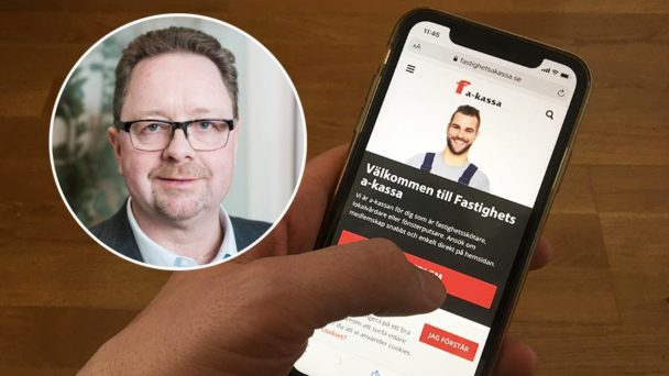Magnus Pettersson är ordförande för a-kassan.