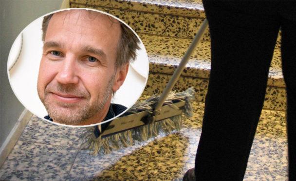 Jörgen Karlsson, trappstädning