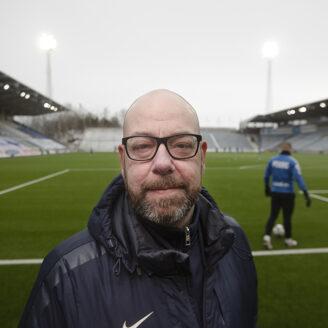 Niklas Wennermark, arenaansvarig.